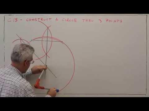 C15--Construct a Circle Through 3 Points