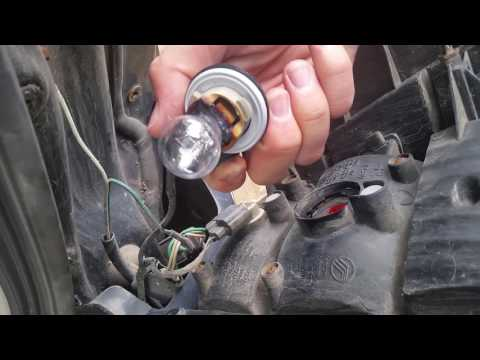 Escape Mariner Tribute taillight bulb replacement