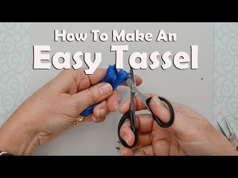 How To Make Jewelry: How To Make An Easy Tassel