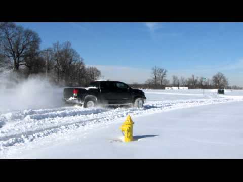 2WD Tundra in the Snow - Who needs 4WD