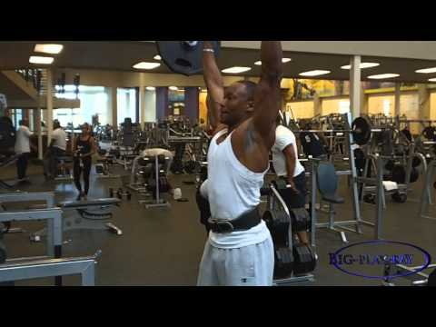 Clean and Press on Shoulder day & COMPOUND exercises pros