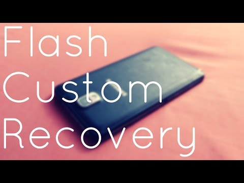 How to install TWRP/Custom Recovery on SAMSUNG phones without ROOT!