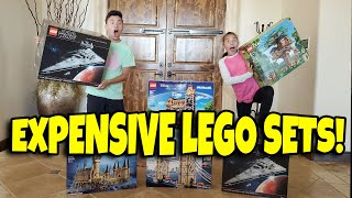 $2,500 WORTH OF EXPENSIVE GIANT LEGO SETS!!! Time for a Giveaway!