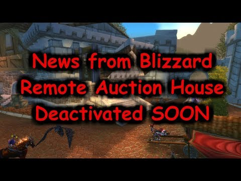 Remote Auction House Deactivated SOON!