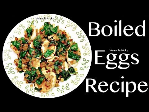 Boiled Eggs Recipe Indian | Egg Recipe For Weight Loss
