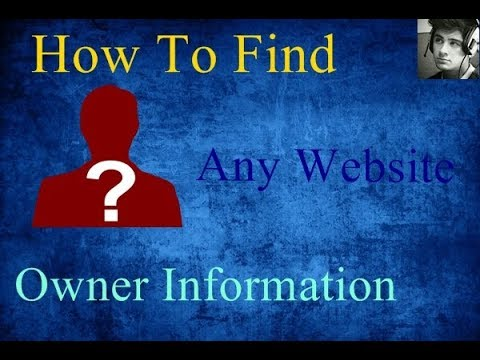 How To Check | Any Website | Owner Information