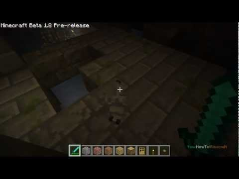 How To Find Strongholds & Kill Silver Fish (Tutorial) :: Minecraft Beta 1.8
