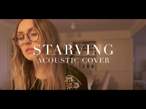 STARVING (live acoustic cover)   Lizzy