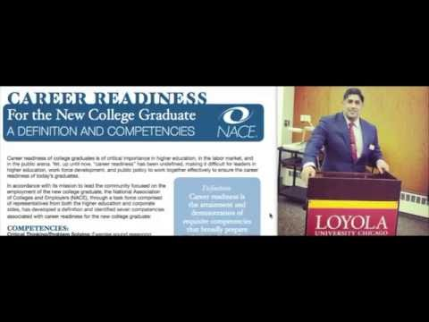 Career Readiness Defined: Presented by Hassan Akmal, MBA, MPH