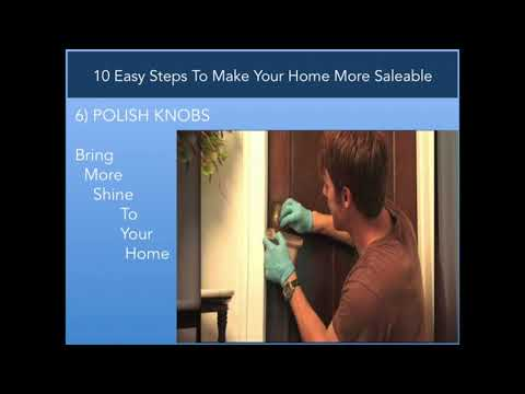 10 Easy Steps To Make Your Home More Saleable