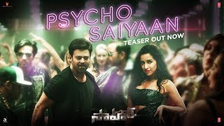 Saaho : Psycho Saiyaan Song Teaser   Saaho Telugu Movie   Prabhas, Shraddha Kapoor