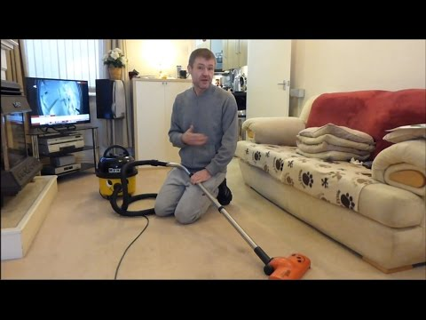 Numatic Henry HVR200A vacuum cleaner with AiroBrush - Review and Demo
