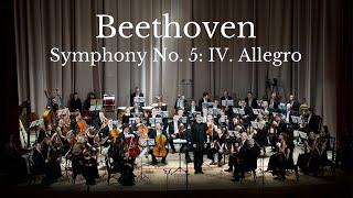 Beethoven: Symphony No. 5, Op. 67: IV. Allegro (Metamorphose String Orchestra)