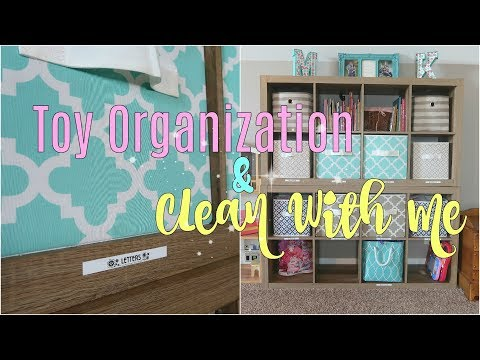 EXTREME TOY PURGE and Clean With Me  How I Organize My Kids Toys
