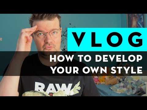 How to develop your OWN STYLE in photography or retouching