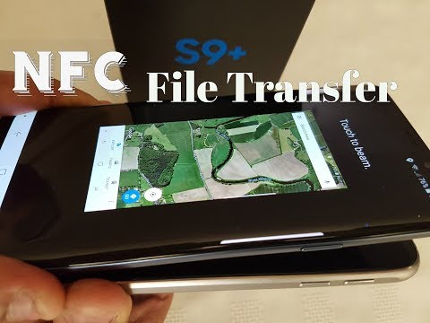 Samsung Galaxy S9+ Nfc File Transfer Share Files