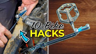 10 Hacks and tips for mountain bikers