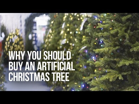 Why Buy an Artificial Christmas Tree? - Alton Garden Centre