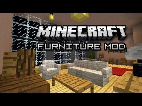 My New Condo in Minecraft! (Furniture Mod Showcase)