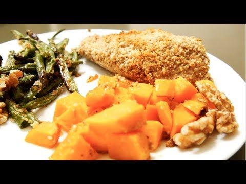 NURSE EATS: Honey Walnut Crusted Chicken