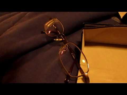 NO GOOD Glasses.  Cheap lens material + lens distortion