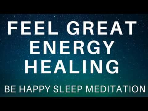 Sleep Hypnosis Energy Healing for Relaxation and Happiness ★ Feel Great Guided Meditation
