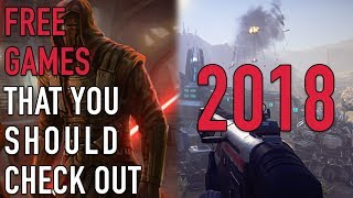 10 Amazing Games That Are Free In 2018 (f2p Games)
