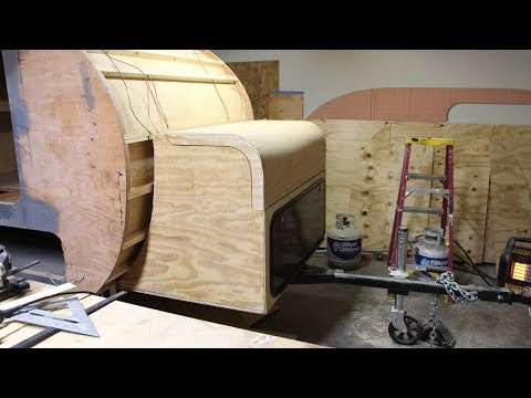 Teardrop Trailer Build - Tongue Box