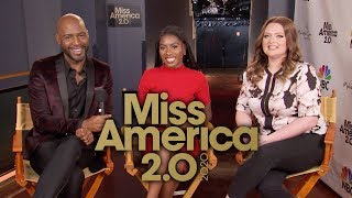 MISS AMERICA 2020 (NBC) Karamo Brown, Lauren Ash & Nia Franklin | INTERVIEW