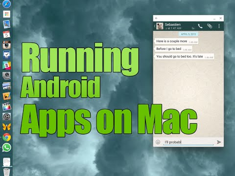 Mac Tip: WhatsApp on Mac and other Android apps