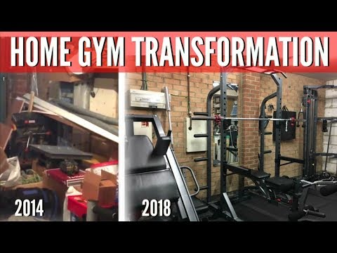 HOME GYM TRANSFORMATION!! 2014 - 2018