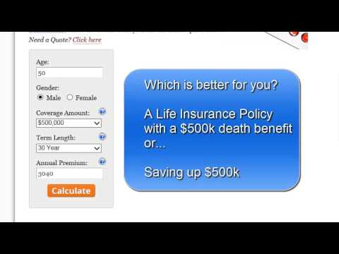 How to Use the Wise Investment Calculator - Is Life Insurance a Good Investment?