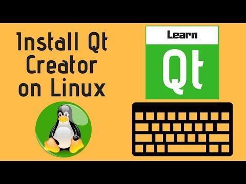 Install Qt Creator on Linux( Ubuntu 16.04)