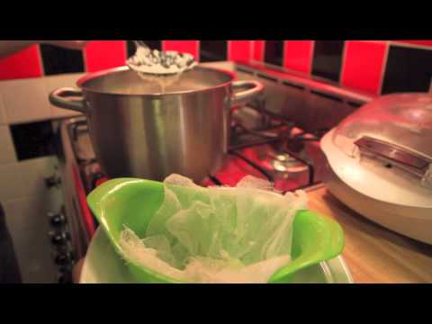 Krrb Presents Quick Tips — How to Make Ricotta Cheese