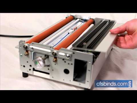 Model 7020 Pouch Laminator: Removing a Jammed Pouch