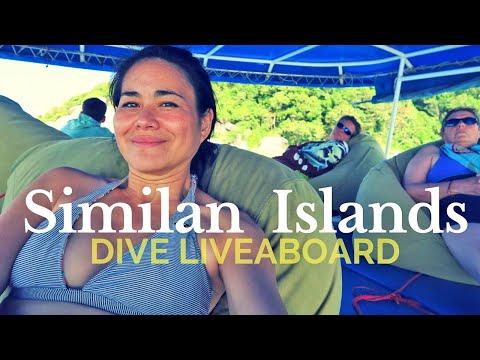 SCUBA DIVING IN SIMILAN ISLANDS |  LIVEABOARD  (VLOG #1)