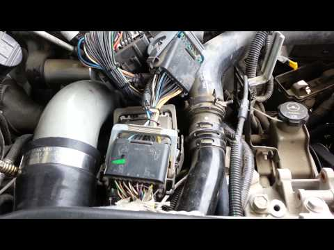 Duramax LLY EGR delete and PCV reroute