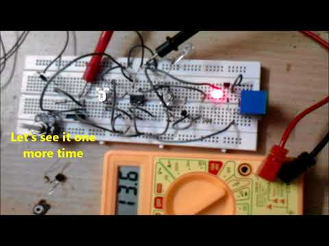Automatic Battery Charger LED Cut OFF Indications