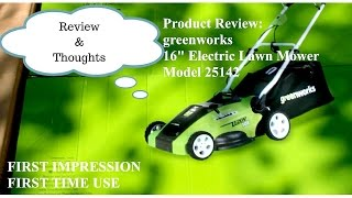 Greenworks 40V Cordless Lawn Mower - One Year Later - PakVim net HD