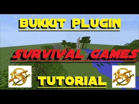 Minecraft Server Plugin Tutorial - Survival Games [Bukkit 1.5.2]