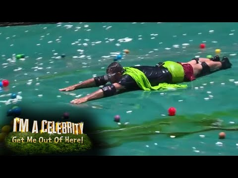 The Celebrity Cyclone! | I'm A Celebrity...Get Me Out Of Here!