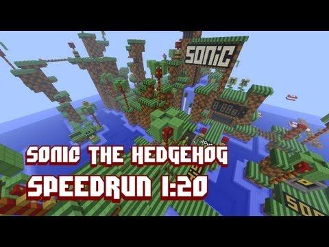 Minecraft Speedrun: Sonic The Hedgehog - 1:20