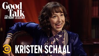 """Kristen Schaal Doesn't Think Anthony's Comedy Is """"Alternative"""" - Good Talk with Anthony Jeselnik"""