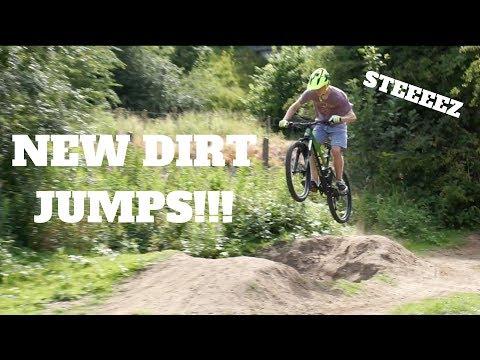 New Dirt Jump Spot! | Dirt Jump Mountain Bike Session!