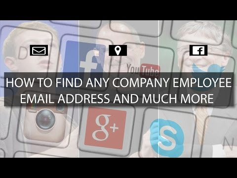 find email address free of charge | [any company employee email address 100% true]