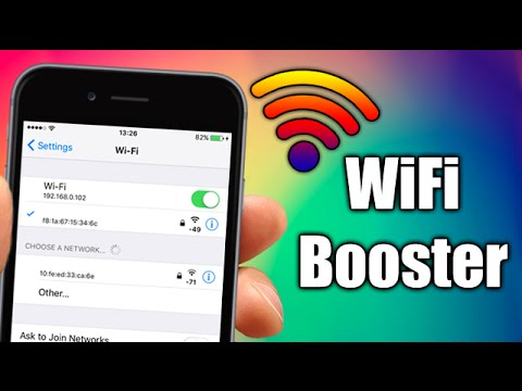 WiFi Booster - iOS 9 Jailbreak Cydia Tweak