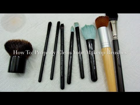 How To | Properly Clean Your Makeup Brushes