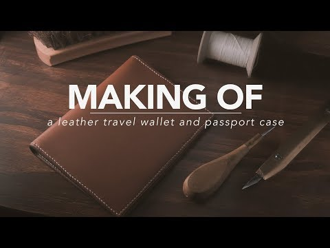 Making of the Albert Passport Wallet