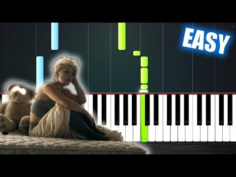 P!nk - Just Give Me A Reason ft. Nate Ruess - EASY Piano Tutorial by PlutaX