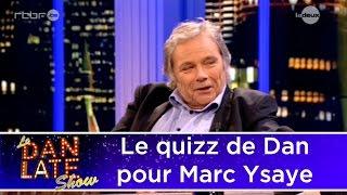 Quizz : Marc Ysaye doit reconnaître des classiques du rock
